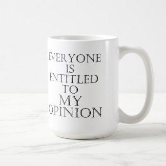 Iedereen heeft recht op mijn adviesmok koffiemok