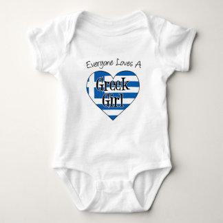 Iedereen houdt van een Grieks Meisje Romper