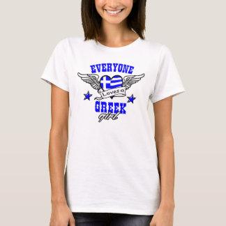 Iedereen houdt van een Grieks meisje T Shirt