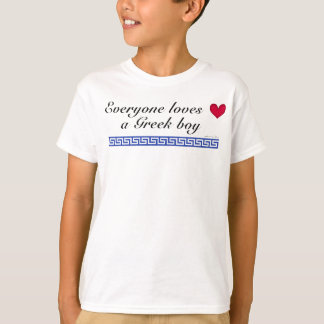 Iedereen houdt van een Griekse jongen T Shirt