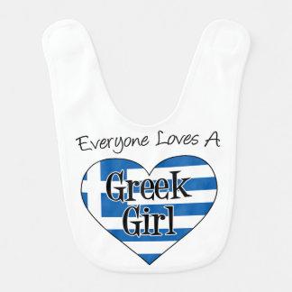Iedereen houdt van een Griekse Slab van het Meisje Slabbetje