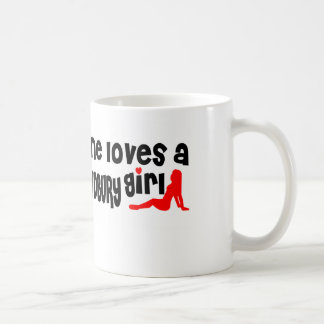 Iedereen houdt van een Groter Meisje Sudbury Koffiemok