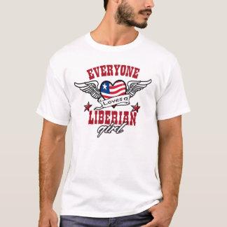 Iedereen houdt van een Liberiaans meisje T Shirt