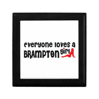 Iedereen houdt van een Meisje Brampton Decoratiedoosje