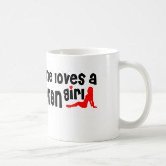Iedereen houdt van een Meisje Brampton Koffiemok