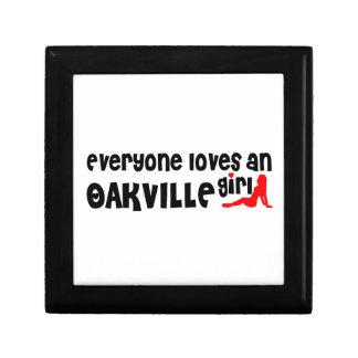 Iedereen houdt van een Meisje Oakville Decoratiedoosje