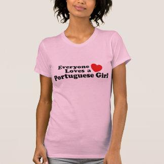 Iedereen houdt van een Portugees Meisje T Shirts