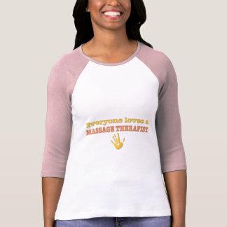 Iedereen houdt van een Therapeut van de Massage T Shirt