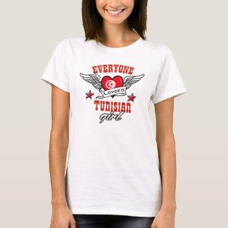 Iedereen houdt van een Tunesisch meisje T Shirt