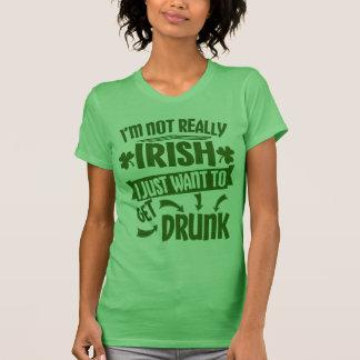 Iedereen is het Ierse Grappige Citaat van de Dag T Shirt