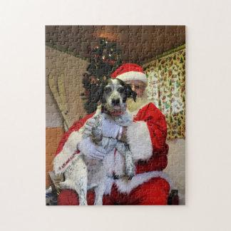 Iemand die Steenkool krijgen voor Kerstmis Puzzel