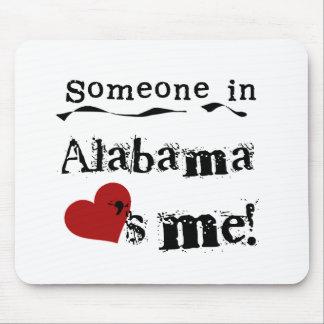Iemand in Alabama houdt van me Muismatten