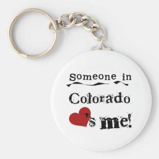 Iemand in Colorado houdt van me Sleutelhanger