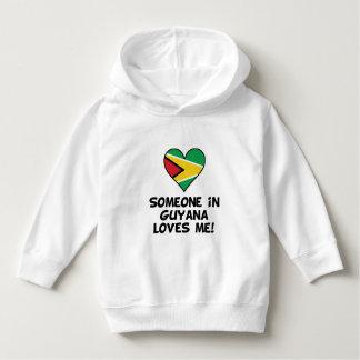 Iemand in Guyana houdt van me Hoodie
