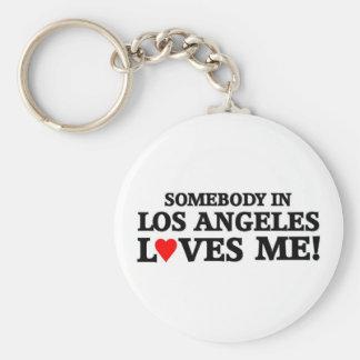 Iemand in Los Angeles Sleutelhanger