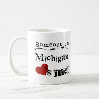 Iemand in Michigan houdt van me Koffiemok