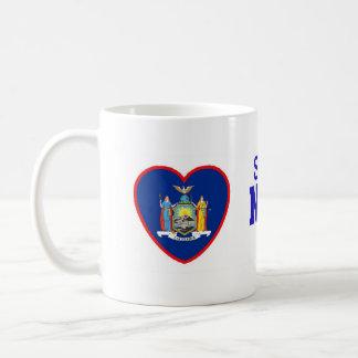 Iemand in New York houdt van me Koffiemok
