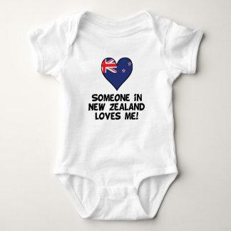 Iemand in Nieuw Zeeland houdt van me Romper