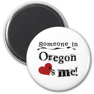 Iemand in Oregon houdt van me Magneet