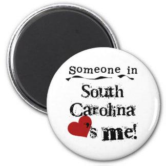 Iemand in Zuid-Carolina houdt van me Magneet