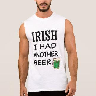 Iers had ik een ander bier grappig st pattys t shirt