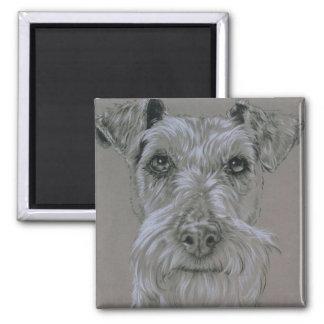 Iers Terrier Vierkante Magneet