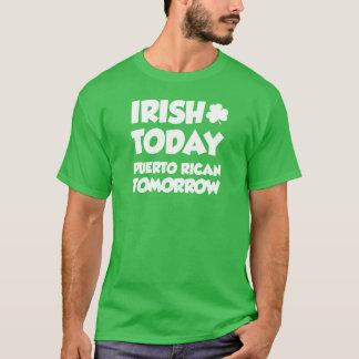 Iers vandaag Puerto Ricaan morgen (OP DARK) T Shirt