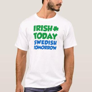 Iers vandaag Zweeds morgen T Shirt