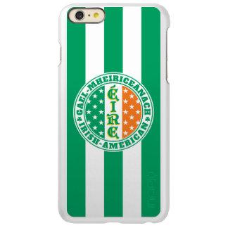 Ierse Amerikaanse Trots - Vlag Éire met Gaëlische Incipio Feather® Shine iPhone 6 Plus Hoesje