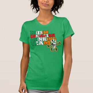 Ierse Canadese St Patricks dag T Shirt