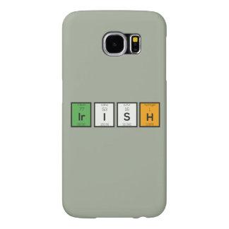 Ierse chemische elementen Zy4ra Samsung Galaxy S6 Hoesje