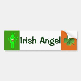 Ierse de bumpersticker van de Engel