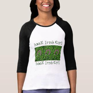 Ierse Gelukkige Hoef T-shirts