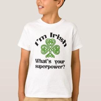 Ierse Grappige St. Patrick van de Grootmacht Dag T Shirt