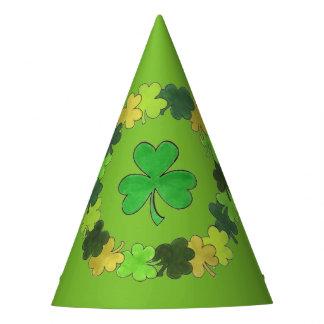 Ierse Groene St. Patrick van de Klaver van de Feesthoedjes