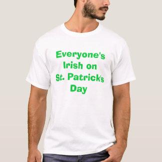 Ierse onSt van iedereen. De Dag van Patrick T Shirt