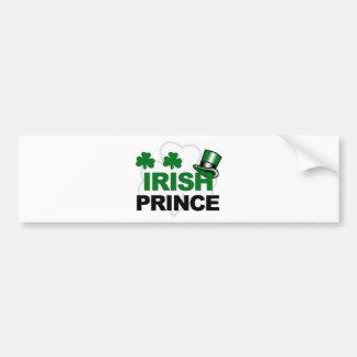 Ierse prinskoopwaar bumpersticker