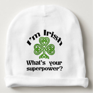 Ierse St. Patrick van de Grootmacht Dag Baby Mutsje