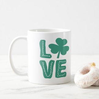 Ierse St Patricks van de Liefde van de Klaver Dag Koffiemok