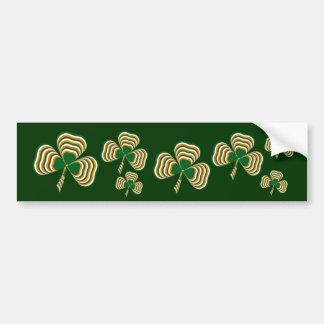 Ierse vlagklaver bumpersticker