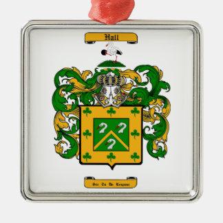 (Ierse) zaal Zilverkleurig Vierkant Ornament