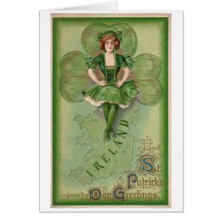 Ierse Zegen Kaart