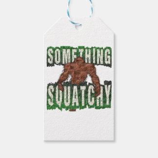 Iets Squatchy Cadeaulabel