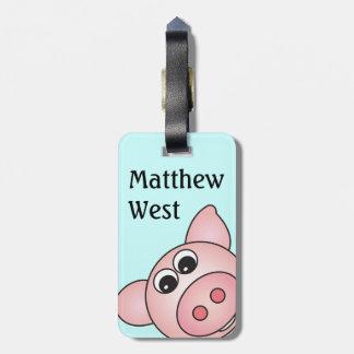 Iggy het Label van de Zak Piggy Kofferlabels