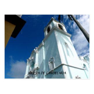 Iglesia DE Candelaria--Tlacotalpan, Mexico Briefkaart