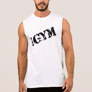 iGym Katoenen van het Mannen UltraMouwloos T Shirt