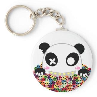 Ijimekko de Panda - de Schedels van de Suiker sleutelhangers