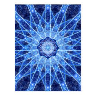 Ijs Lotus Mandala Briefkaart