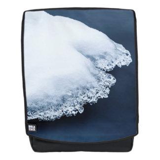 Ijs, sneeuw en bewegend water rugtassen