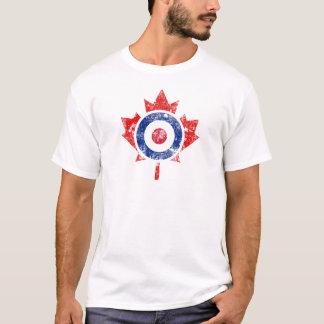 Ijs van Grunge van het Doel van het Hockey van T Shirt